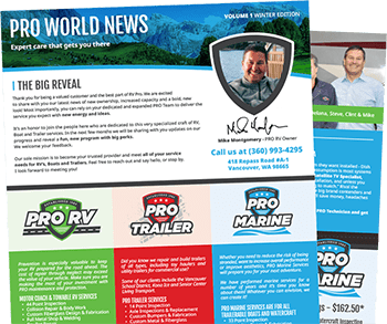 Pro World Newsletter