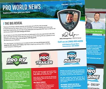 Pro World Newsletter